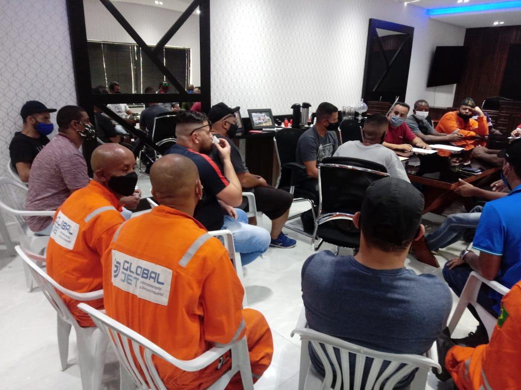 Sintricom atende trabalhadores da GlobalJet