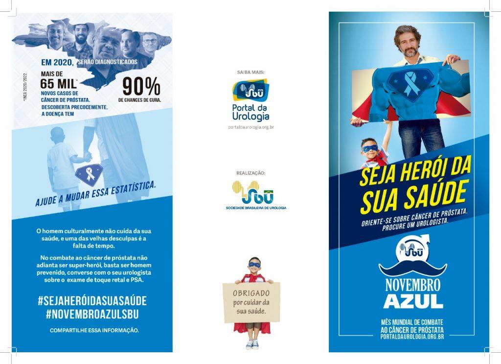 Portal da Urologia lança Campanha Seja Herói da sua Saúde para incentivar e alertar homens para a prevenção do câncer de próstata