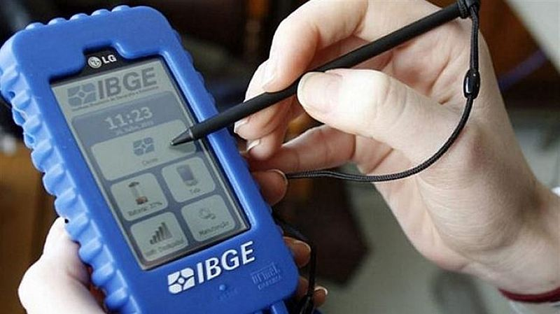 Inscrições abertas para 180 mil vagas de recenseadores do IBGE