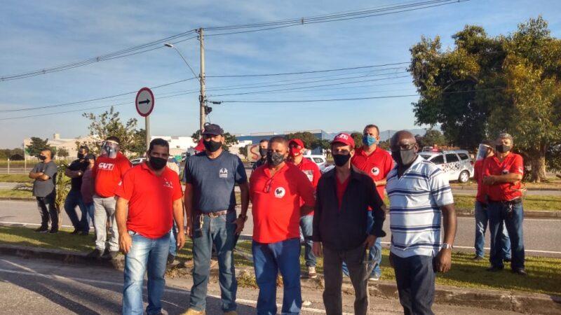 Sintricom apoia luta dos trabalhadores LG, Blue Tech, 3C e da Sun Tech