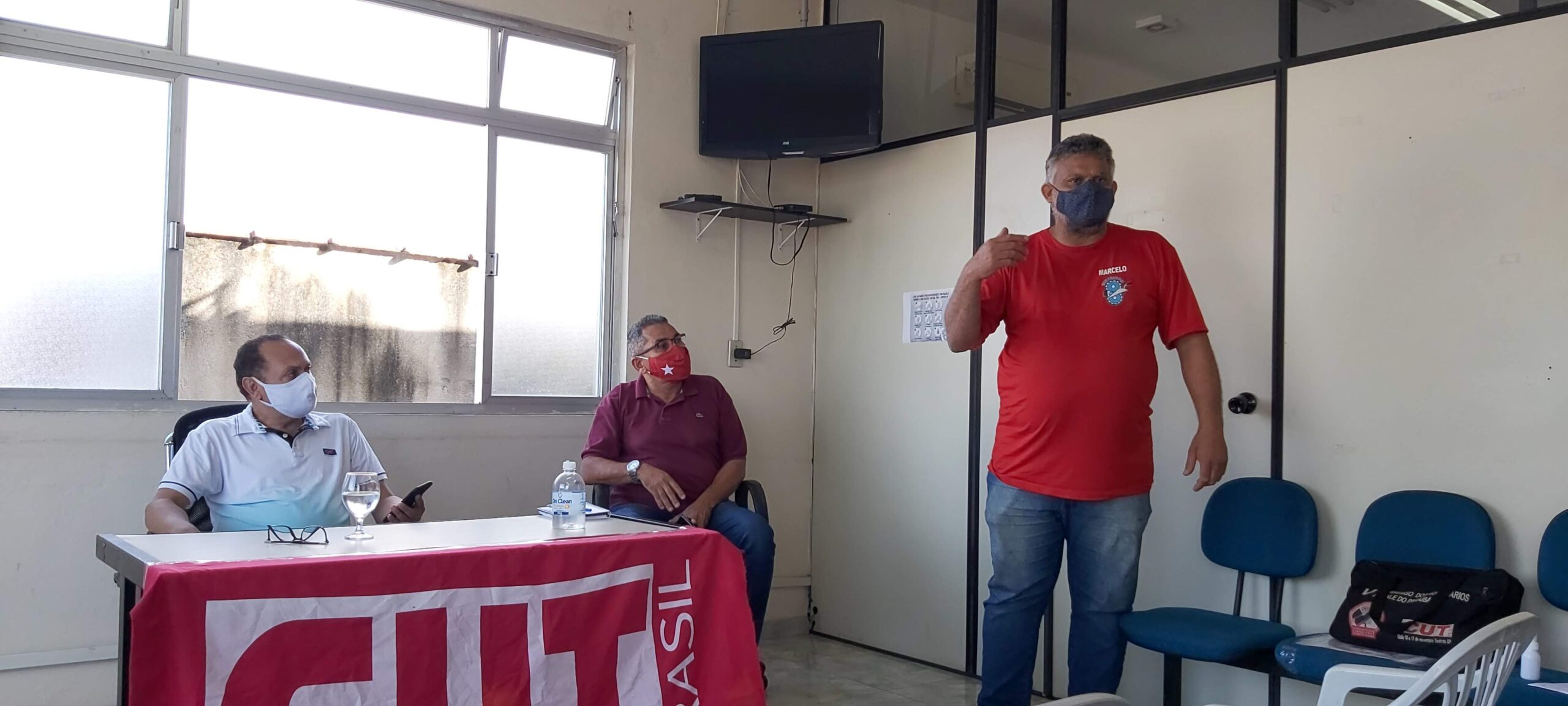 CUT Vale do Paraíba se reúne e traça ações em prol dos trabalhadores