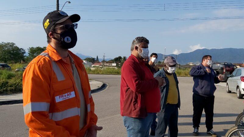 Trabalhadores da Liga Engenharia entram em greve por falta de pagamento
