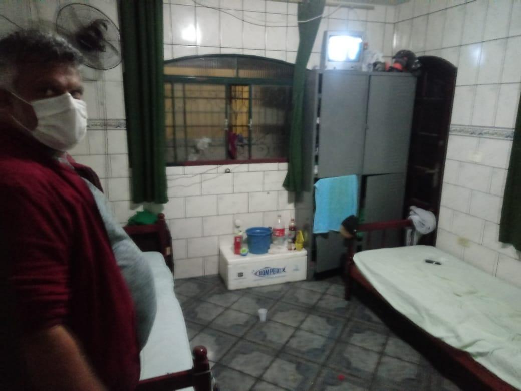 Sintricom flagra trabalhadores em situação precária em Pousada
