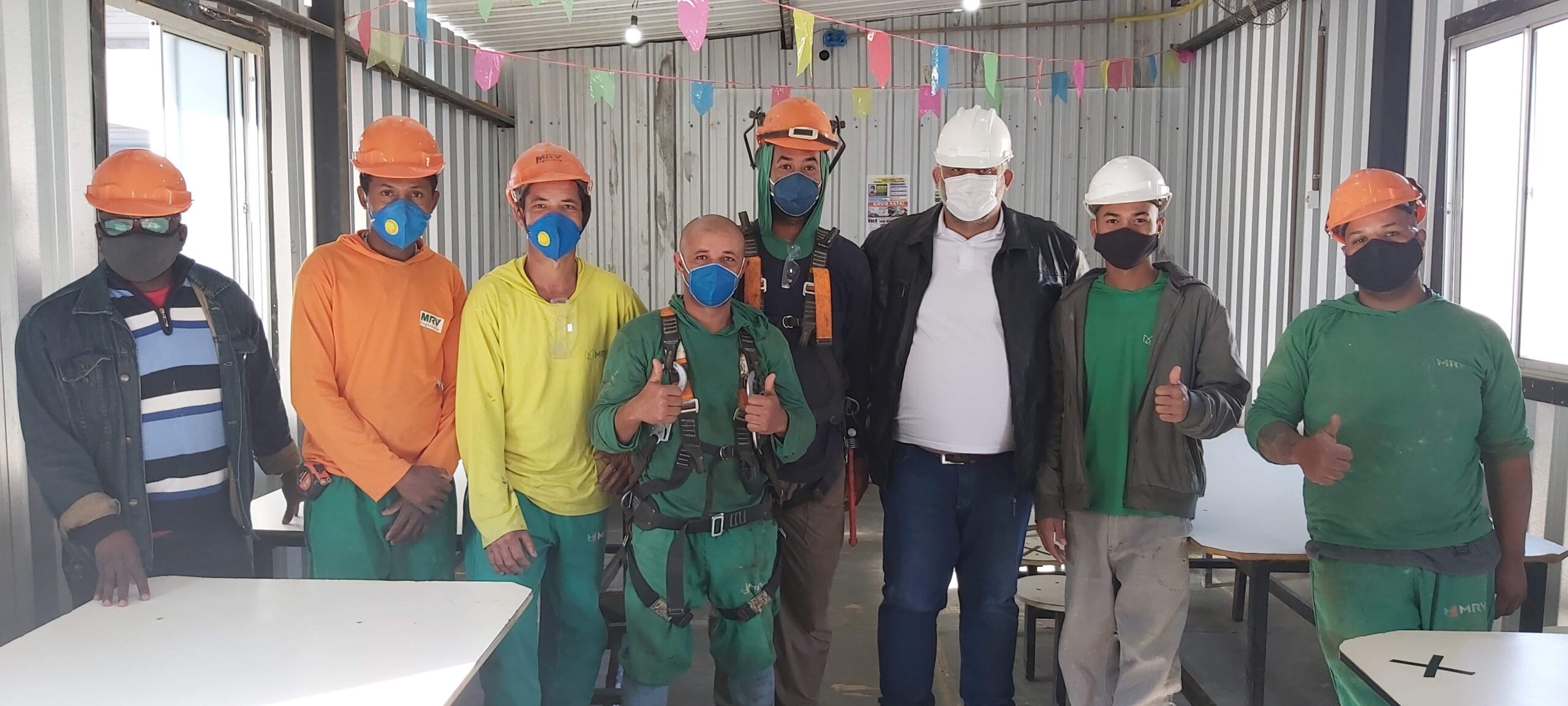Trabalhadores Campo Di Napoli elegem CIPA