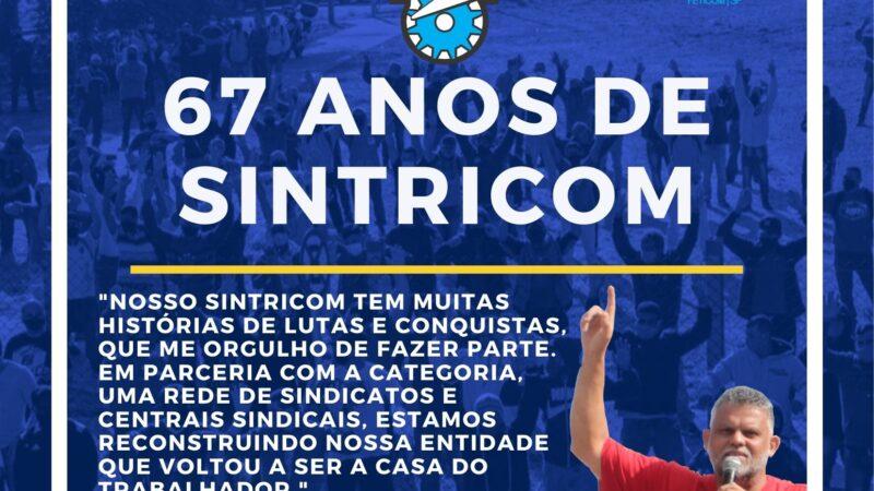 67 ANOS DE SINTRICOM