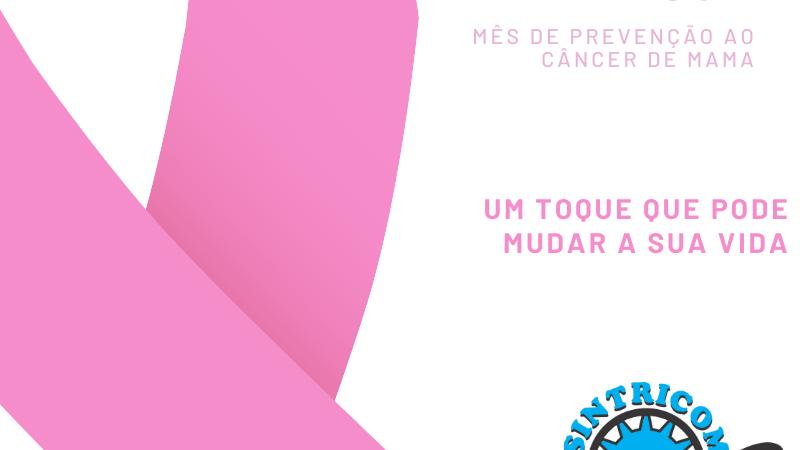 Campanha Outubro Rosa ressalta a importância do autoexame para prevenção do Câncer de Mama
